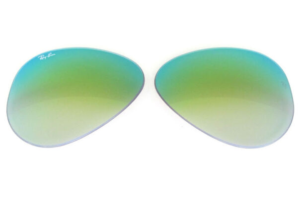9c30212312 LENSES SPARE PART RAY BAN 3407 55 OUTDOORSMAN GREEN MIRROR GRADIENT  REPLACEMENT
