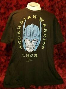 3XL-Asgardian-Warrior-Thor-T-shirt-The-Avengers-Marvel-Comics-Punk-Rock-Retro