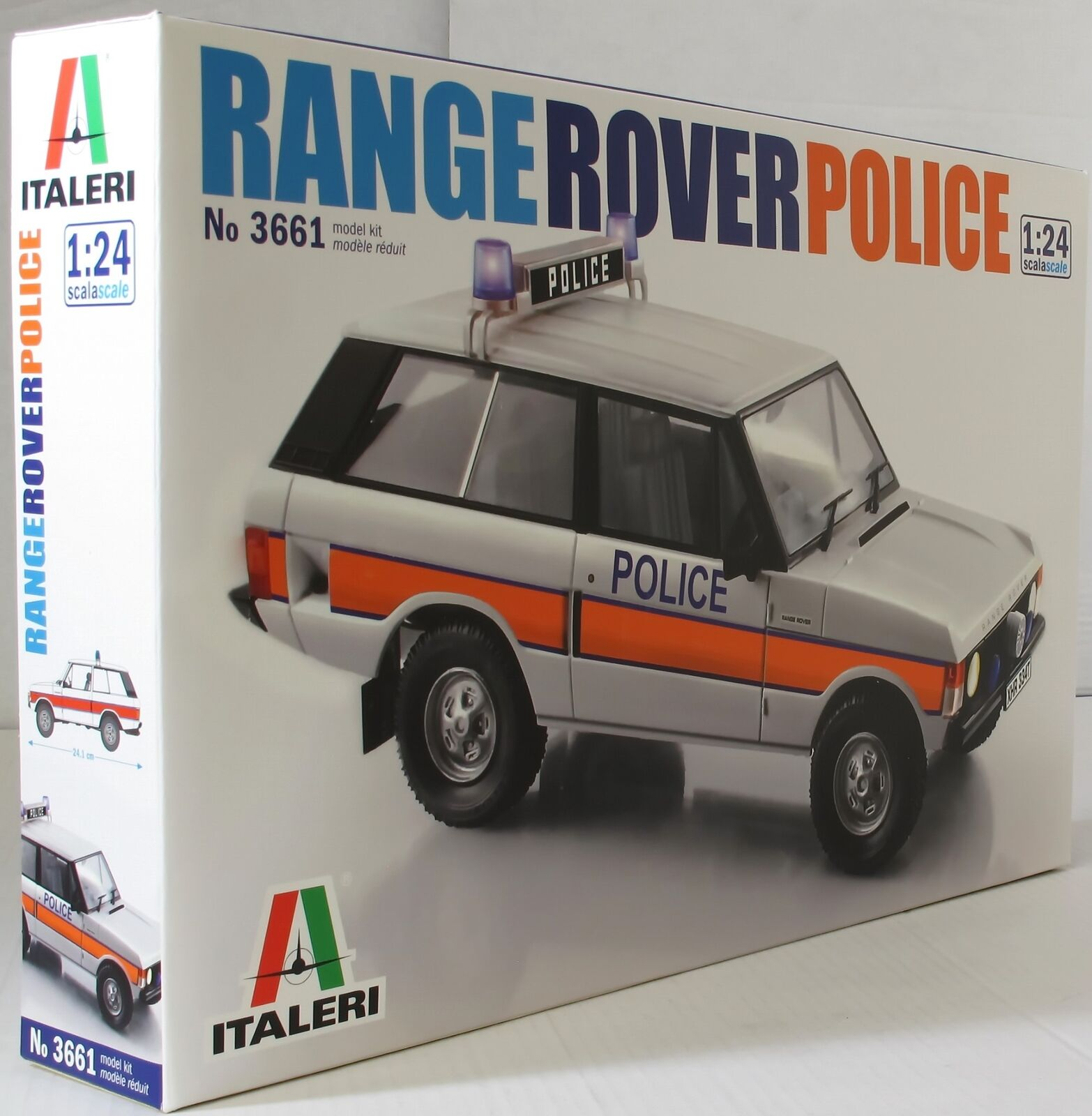 Italeri 1 24 3661 Range Rover Police Model Car kit