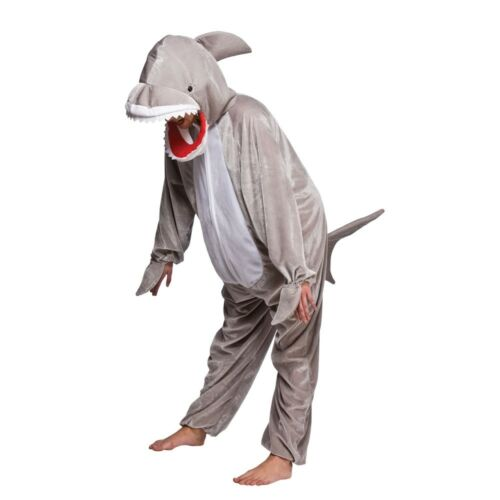Child SHARK Fancy Dress Outfit Animal Wild Jaws Film Costume Book Week Age 3-13