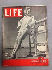 LIFE MAGAZINE JULY 20, 1942 SHORT COAT JAPANESE PHOTOS FROM BATAAN PEARL HARBOR