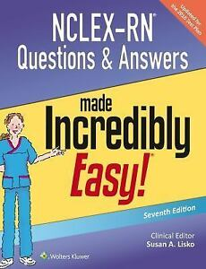 Nclex Rn Questions And Answers Made Incredibly Easy Pdf File