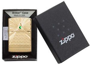 ZIPPO-Feuerzeug-Eye-of-Providence-Messing-Poliert-Neuheit-2020-60004908