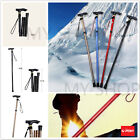 Aluminium Metal Walking Stick Travel Folding Adjustable Compact Cane Pole