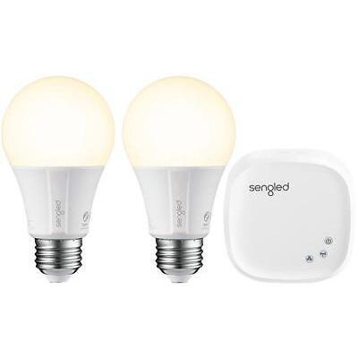 Sengled Element Classic Starter Kit (2 x A19 Bulbs + 1 x Hub) - Soft White 2700K