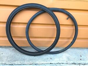 USED SCHWINN STINGRAY FASTBACK S-5 FRONT BICYCLE TIRE & TUBE 20 X 1 3/8 USA MADE