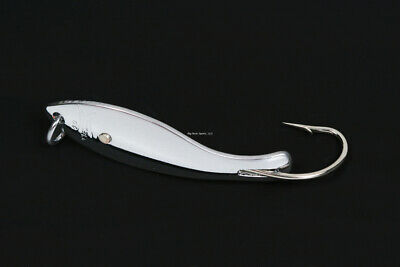 1//0 Hook Silver Nungesser 20N-1 00 Shad Spoon 1//12 oz
