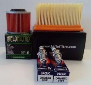 BMW F650GS / Dakar (2005 to 2007) Service Kit (Air / Oil Filter & Iridium Plugs)