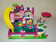 Mega Bloks Barbie Chelsea Pool Party #80136 Lego Compatible
