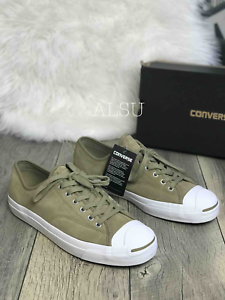 Converse Khaki Suede Low Top Sneakers Shoes