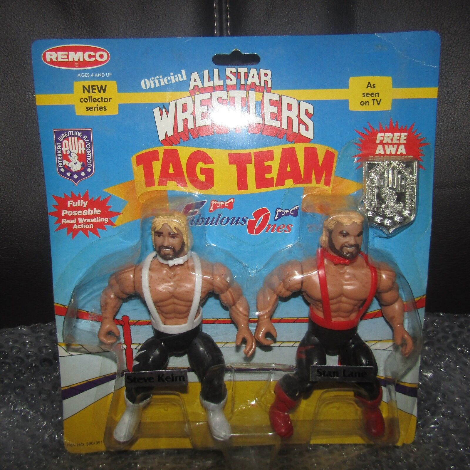 REMCO AWA/wwf/nwa/awa  ALL STAR WRESTLING The FABULOUS ONES,TRUE moc