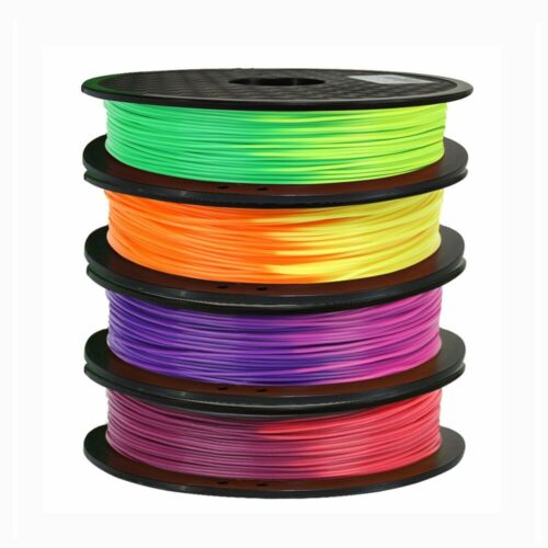 Color Change PLA filament 4PCS 1.75mm 0.5KG Changing Temperature Material