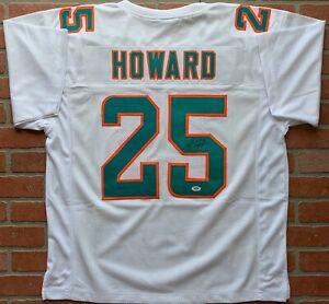Xavien-Howard-autographed-signed-jersey-NFL-Miami-Dolphins-PSA-COA-Baylor