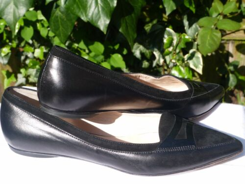 женская Shoes 5 black nappa Hobbs pointed Women's Size 5 Uk 5 38 classic Обувь 5H7qH