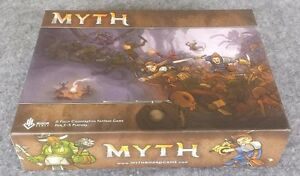 Myth Board Game and Crawler Blister by Megacon Games