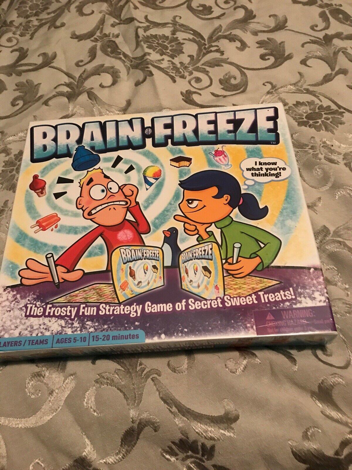 the fun new award-winning strategy board game for kids 5 BRAIN FREEZE