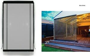 270-x240cm-Charcoal-Tinted-Heavy-Duty-PVC-Cafe-Style-Outdoor-Bistro-Blind-Patio