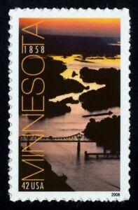 #4266 42c Minnesota, Mint ** Toute 4 = Livraison Gratuite ** Remises Vente