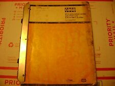 Case Parts Manual W14 loader
