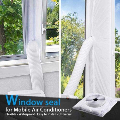 Fensterabdichtung mobile Klimageräte Ablufttrockner Homegoo Klimagerät Airlock