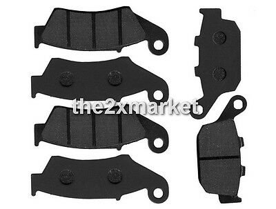 6pcs F+R Brake Pads For Honda XRV 750 P/R/S/T/V/W/X/Y Africa Twin 1994-2003