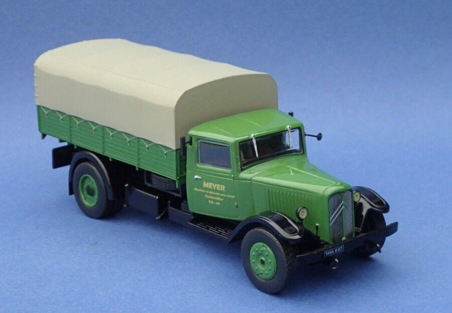 CITROEN P45 1946 Plateau bache camion autrefois 110   ALTAYA  IXO