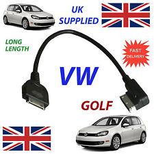 VW GOLF MDI 00051446L LONG iPhone iPod voiture Câble de rechange