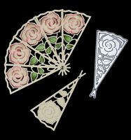 Signature Dies by Joanna Sheen - Large Rose Fan SD103