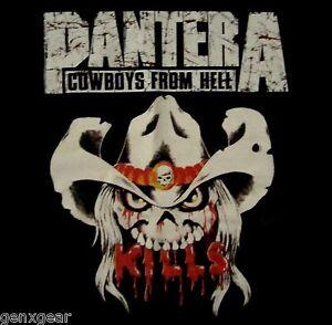 PANTERA-cd-lgo-Cowboys-from-Hell-KILLS-Official-SHIRT-SMALL-new