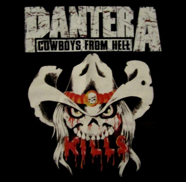 PANTERA cd lgo Cowboys from Hell KILLS Official SHIRT SMALL new