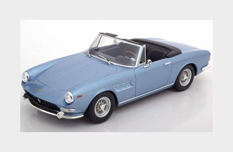 Ferrari 275 Gts Pininfkonst Spider 1964 ljus blå Met KK skala 1 18 KKKKKKKKC18046