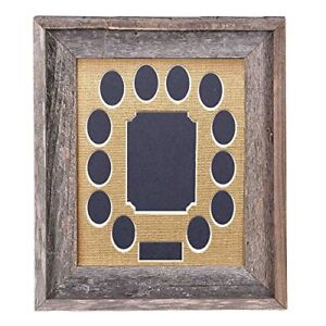 Barnwoodusa School Years Matted Picture Frame K 12 100 Reclaimed