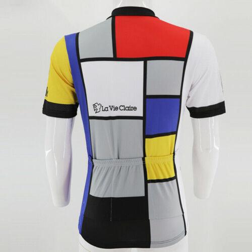 Retro RADAR LA VIE CLAIRE Cycling Jersey And Bib Shorts Sets