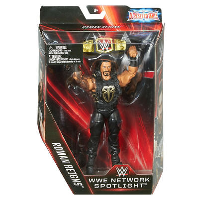 WWE Network Spotlight Mattel WWE Roman Reigns Exclusive Action Figure Elite Collection