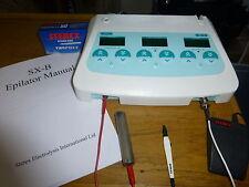 STEREX SX-B BLEND ELECTROLYSIS MACHINE. FULLY SERVICED. WARRANTY