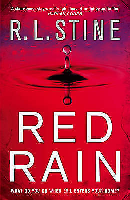 "1 of 1 - ""AS NEW"" Red Rain, Stine, R L, Book"