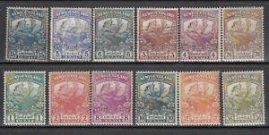 Newfoundland-Mail-Yvert-100-11-Or-No-102-104-Used