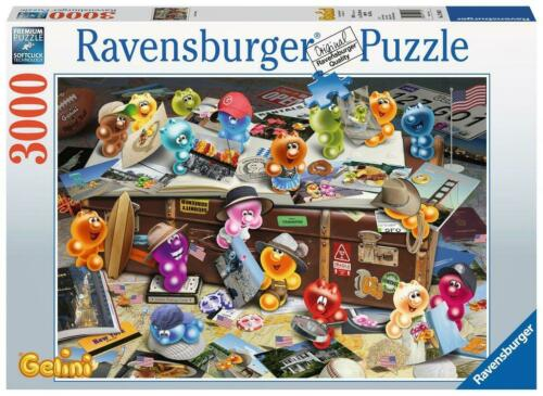 RAVENSBURGER GELINI PUZZLE GERMAN TOURISTS JORG ZAHRADNICEK 3000 PCS #17004