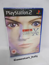 RESIDENT EVIL CODE VERONICA X - SONY PS2 PLAYSTATION 2 - NEW PAL VERSION
