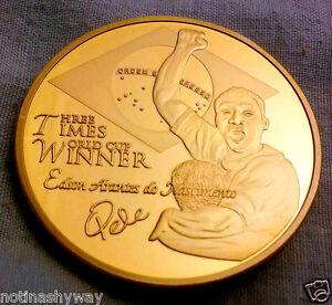 Pele-Gold-Coin-WORLD-CUP-Winner-Brazil-Flag-Santos-New-York-Cosmos-Russia-2018