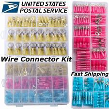 Heat Shrink Wire Connectors Diy Kit Waterproof Marine Automotive Terminals Kit