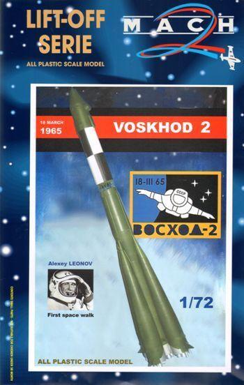 Mach 2 1 72 Voskhod 2 - First Space Walk L017