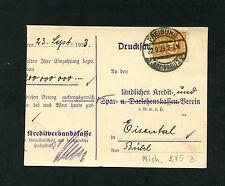 Dt. Reich Nr. 275  EF auf Drucksache   (NO-160)