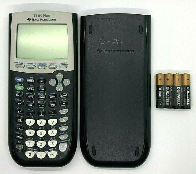 Texas Instruments TI-84 Plus Black Graphing Calculator TI84+