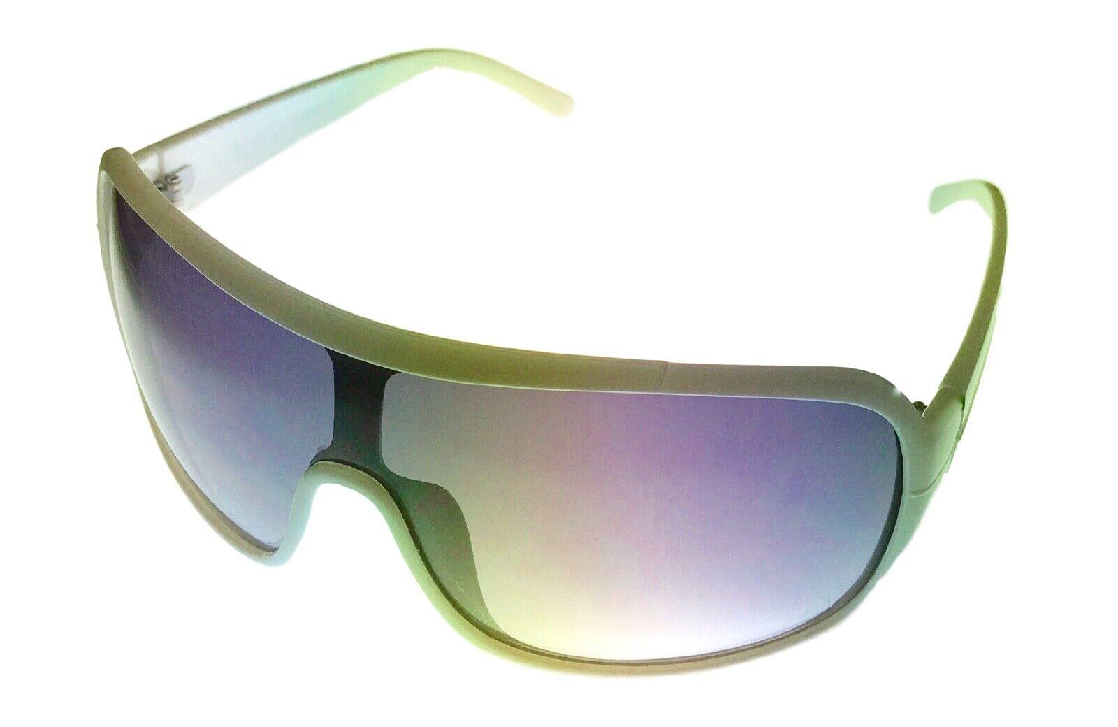 Smoke Gradient Lens PE12 4 Perry Ellis Mens Sunglass Black Plastic Wrap