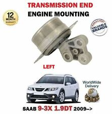 FOR SAAB 9-3X 1.9 TTID 180BHP 2009-  LEFT SIDE ENGINE TRANSMISSION END MOUNTING