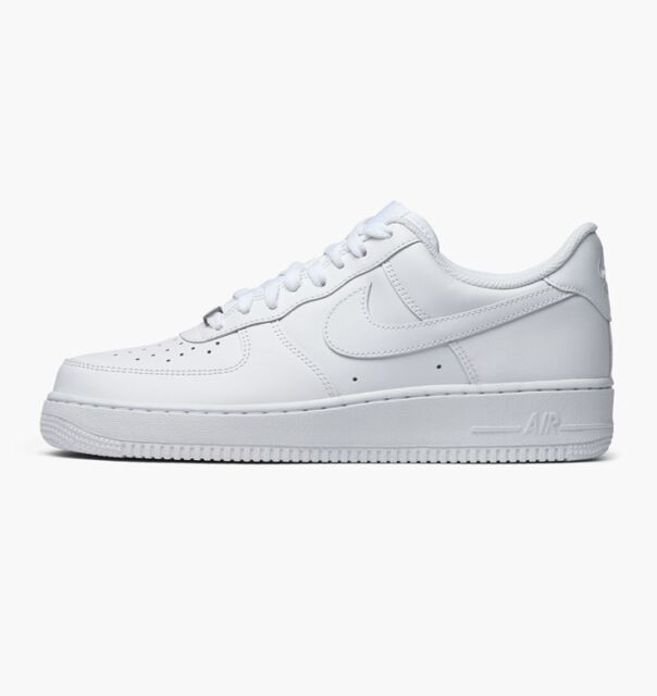Brand New White Air Force 1 '07 Men's Athletic Fashion Sneakers [315122 111]