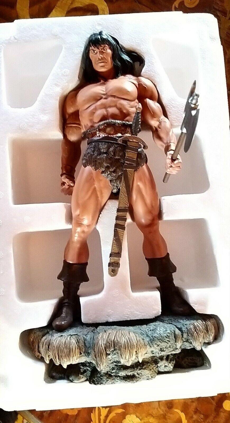 Conan The Barbarian Porcelain Statue Hard Hero