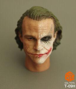 1//6 Red Hair Male Head Carving The Joker Head Sculpt Head Sculpt F 12/'/' Figure