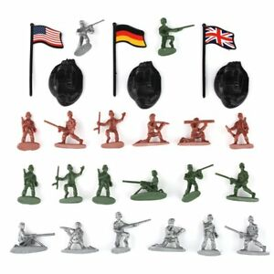 300-pcs-Military-Plastic-Toy-Soldiers-Army-Men-1-72-Figures-in-12-Poses-w-Flags
